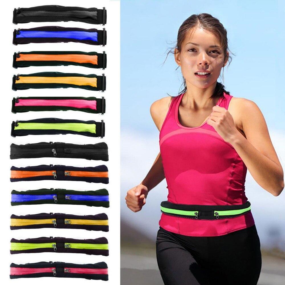 Sports Bag Running Waist Bag Pocket Jogging Portab...