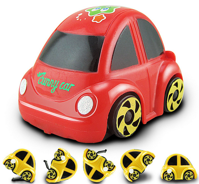 Mini Somersaults Toy Cars Car Miniature Toy Model Cars Toys For