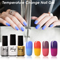 FOCALLURE Bling Nail Polish Change Colors UV Gel Hot Cold Changing Nice Gel Nail Art Design Hot Sale Gel Lacquer