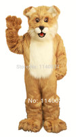 costume cosplay Longhaired Light Brown Fido Dog Mascot Costume Adult Size Cartoon Character carnival costume fancy Costume