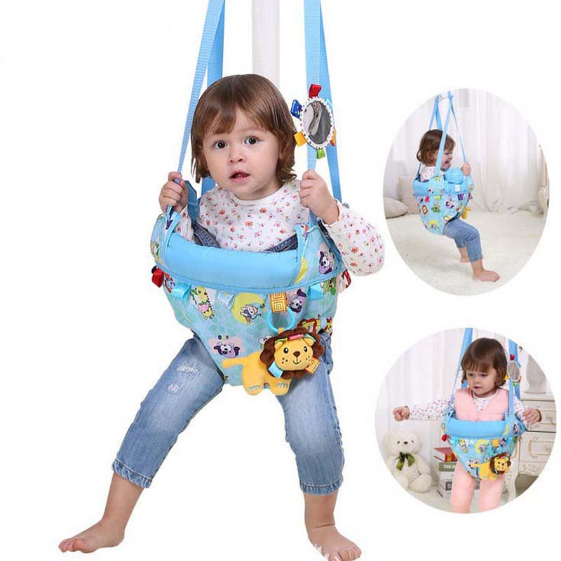 Jolly baby Toddler Toy Fitness Swing Jumping Dual-purpose Park Bebek Chairs Rocking Cradle Baby Jumpers Bouncers Walker baby bouncers and jumpers cartoon inflatable foldable baby bouncers and jumpers slide baby jumping toys jolly jumper folding
