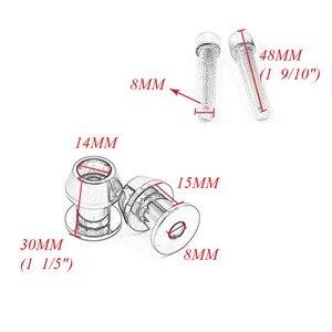 Слайдеры для мотоцикла, 2 шт., 8 мм, CNC, Swingarm, поворотная рука, катушки для Honda CBR 600 900 929 1000 RR ST1300 CB600F CBF1000 CBR1100XX