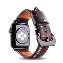 Bracelet for Apple Watch Bands 42mm 38mm 44mm Band Genuine Leather Strap for Apple Watch Series 4 3 2 1 Straps For iWatch 4