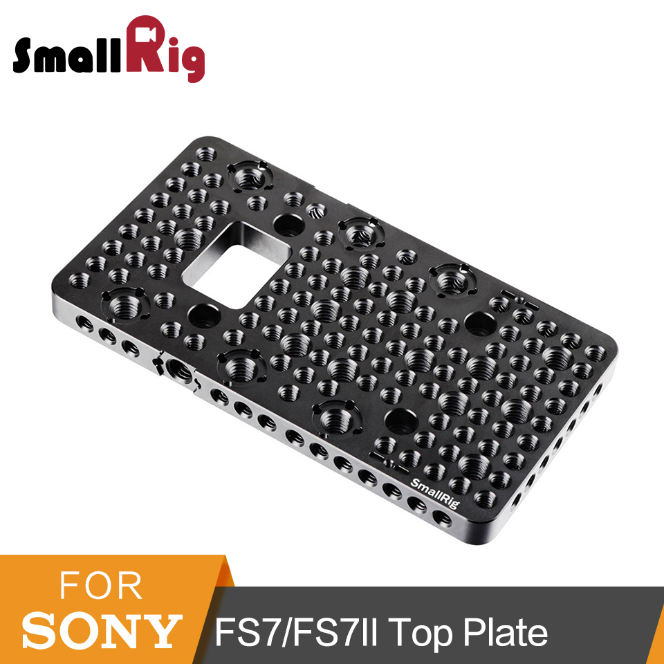 SmallRig Integrated Top Plate for Sony FS7/FS7II Camera With 1/4 3/8 Thread Holes ARRI Accessories Point - 1974