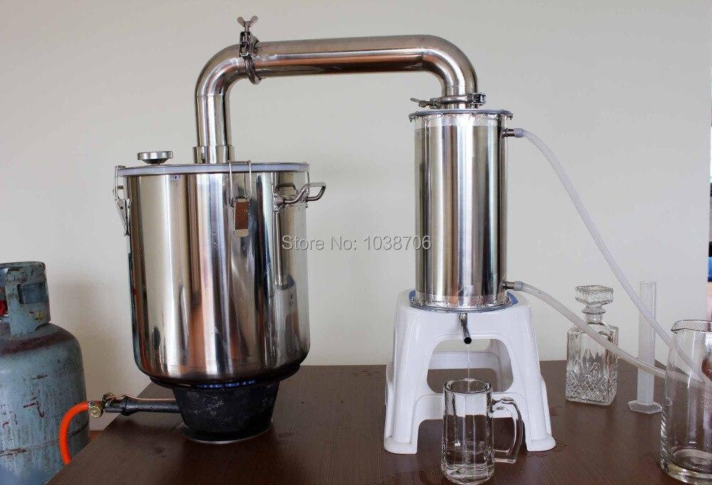 Home Water Distillation Equipment ~ Litre distillation of pure water wine vodka alcohol