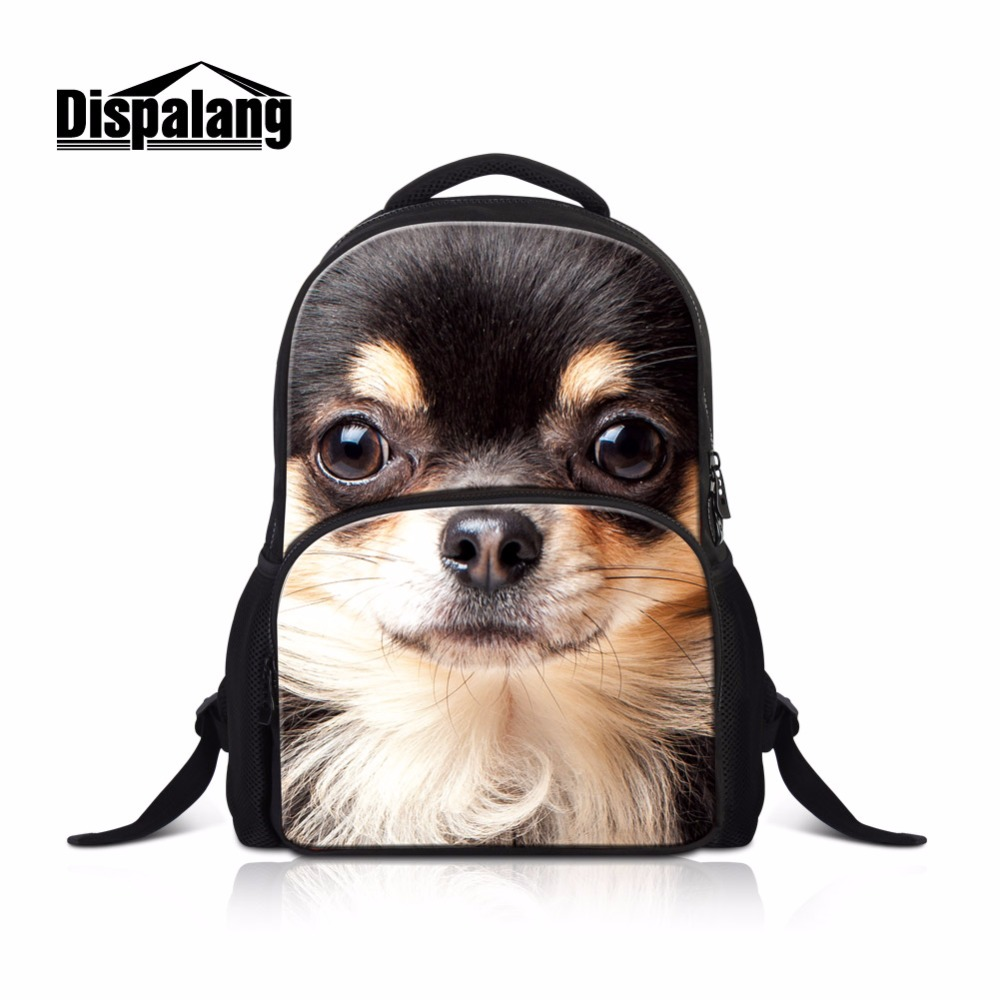 School Bags for Teenager Boys Cool Large Capacity Backpacks Pattern for Children Best Animal Dog Bookbags Day Pack for Youth