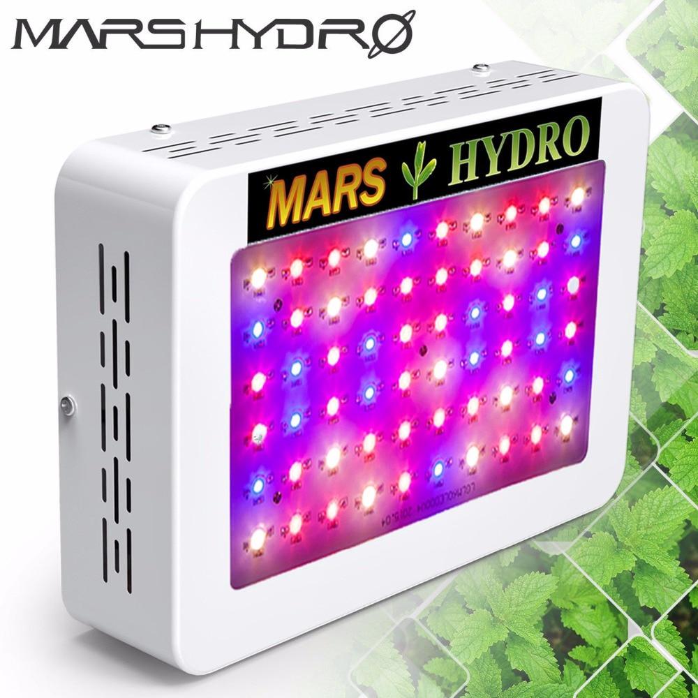 Mars Hydro светодиодная Промышленная Лампа 300Вт С Полным Спектром Для Выращивания Лекарственных растений в Помещении фитолампа