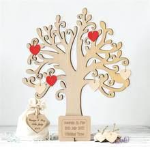 Étiquettes à suspendre en bois 10 pièces, embellissements d'arbre, bricolage artisanat, décoration d'arbre de noël pour maison, mariage, fête d'anniversaire, A3