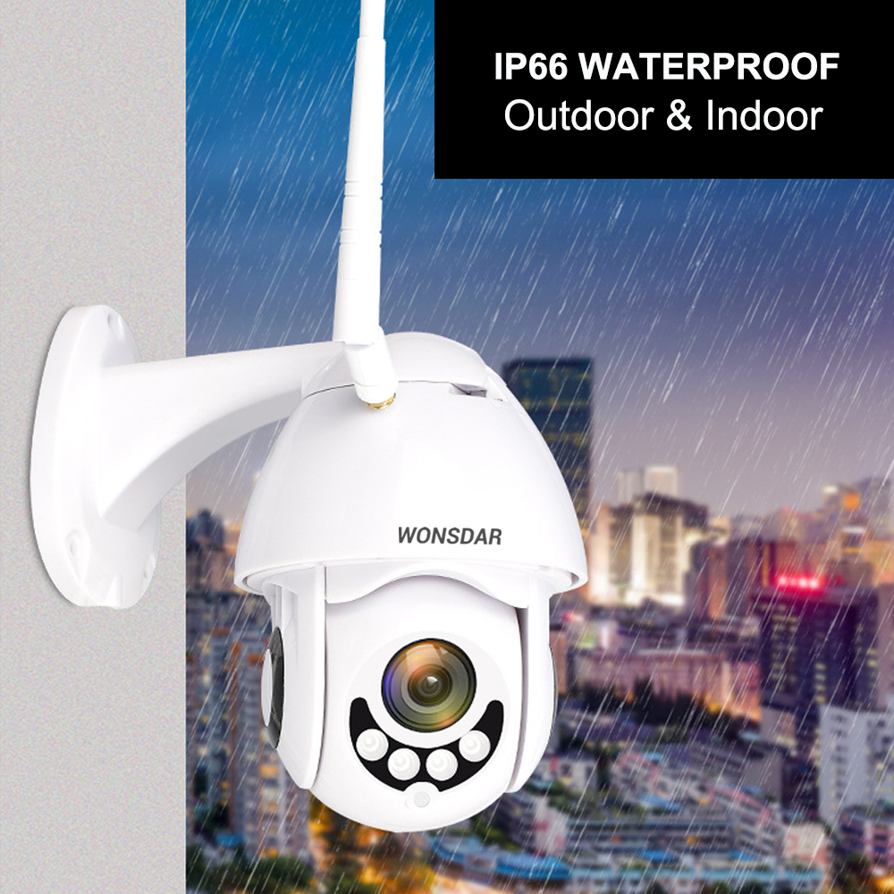 Image 2 - Wonsdar 1080P PTZ IP Camera Yoosee Two Way Audio Wireless Wifi Security Outdoor Speed Dome Camera Surveillance CCTV Onvif P2P-in Surveillance Cameras from Security & Protection