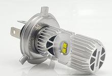 цены Dreauto H4 P43t HS1 LED Motorcycle Headlight Bulb Hi/Lo 1400Lm Bi-Beam Lamp Scooter Headlamp Moto Lights Plug & Play 9-85V