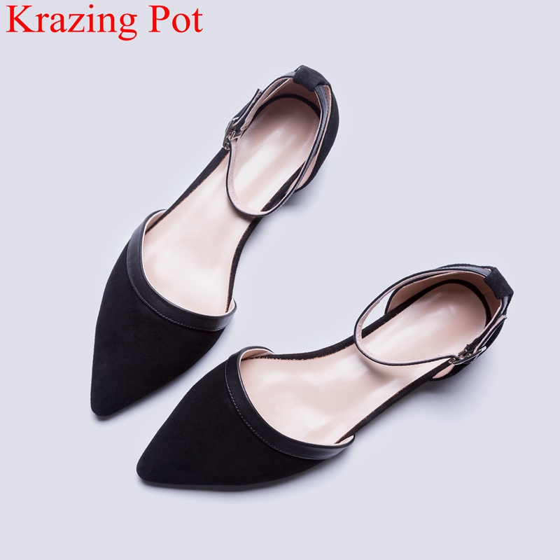 2018 superstar office lady shallow genuine leather shoes square heel women pumps elegant driving buckle strap summer shoes L21 women pumps mary janes med square heel round toe office career buckle strap lady shallow shoes rubber sole comfortable insole