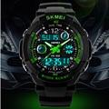 Relojes hombres lujo de la marca skmei reloj deportivo de moda caliente s choque masculino relogio del reloj de cuarzo analógico de pulsera digital led