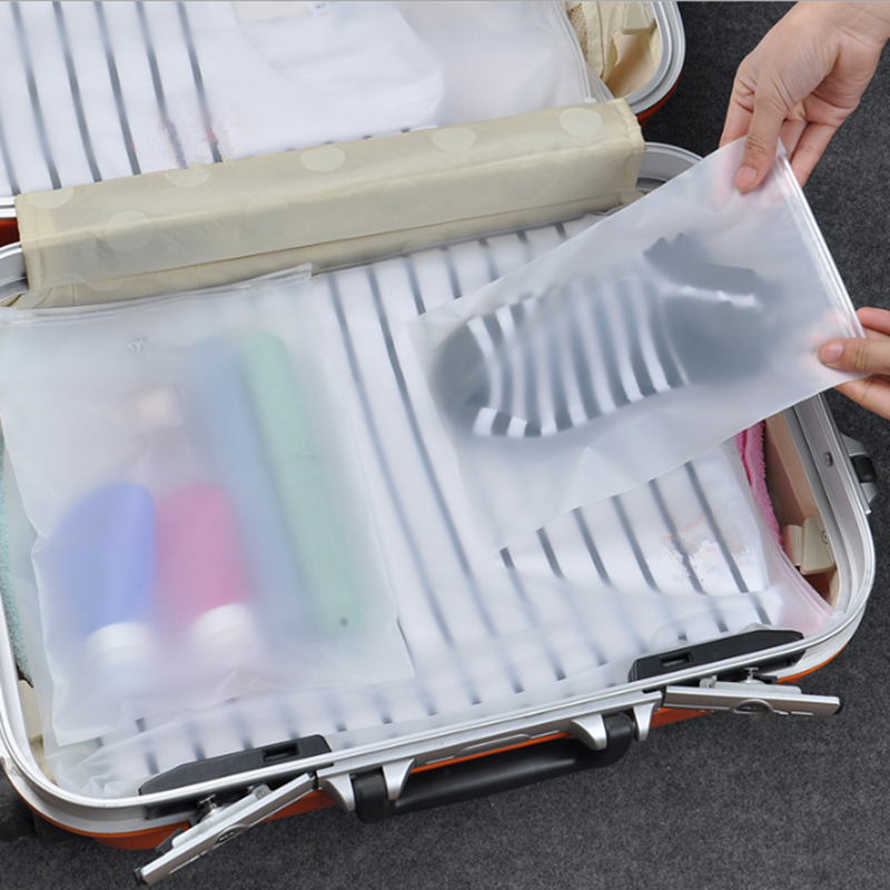 Transparent Waterproof Travel Cosmetic Bag Women Zipper Makeup Case Men Make Up Organizer Storage Pouch Toiletry Wash Bath Kit