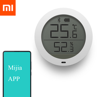 2018 Original Xiaomi Mijia Bluetooth Temperature Humidity Digital Thermometer Moisture Meter Sensor LCD Screen Smart