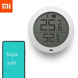 Xiao mi mi jia temperatura Bluetooth Hu mi dity ekran cyfrowy lcd termometr czujnik miernika wilgotności inteligentny mi domu w Inteligentny pilot zdalnego sterowania od Elektronika użytkowa na