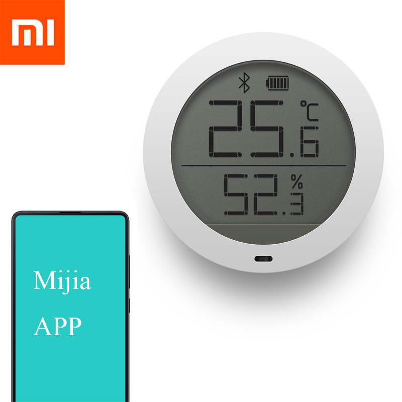 Xiaomi Mijia Bluetooth Temperature Humidity Digital LCD Screen Thermometer Moisture Meter Sensor Smart Mi Home