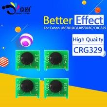 1 компл. чип картриджа CRG329 CRG729 729 для Canon LBP 7010C 7018C LBP7010C LBP7018C LBP-7010C LBP-7018C принтера