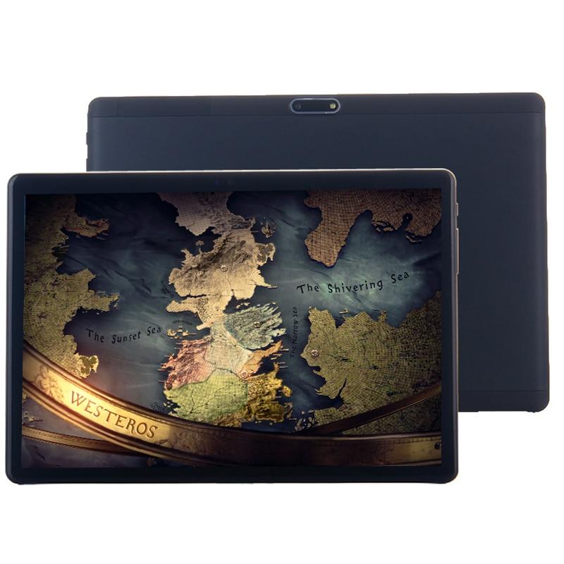 2019 polegada tablet PC 3 10G 4G LTE Android 8.1 10 Núcleo de metal tablets 4 GB RAM 128 GB ROM WiFi GPS 10.1 tablet IPS CP9 WPS