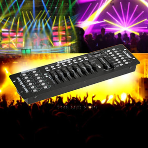 192 dmx profissão controlador de iluminação palco equipamento dj dmx 512 console led par movendo a cabeça luz dj controlador nenhum microfone
