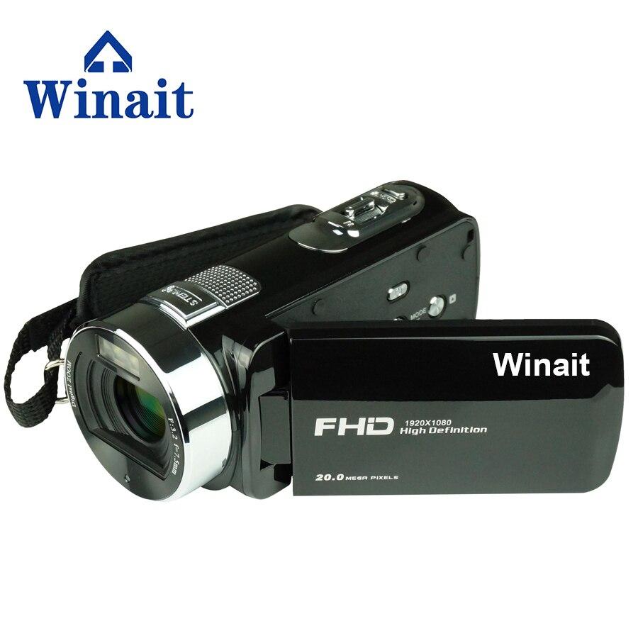 Winait 2017 popular HDV-F6 digital video camera with 270 degree rotation screen Max 20.0Mega pixels Face captureWinait 2017 popular HDV-F6 digital video camera with 270 degree rotation screen Max 20.0Mega pixels Face capture