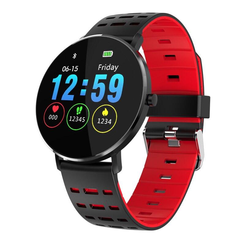 Plein écran L6 montre intelligente hommes étanche Android hommes montres intelligentes Bluetooth bracelet fréquence cardiaque podomètre plongée Ip68 reloj
