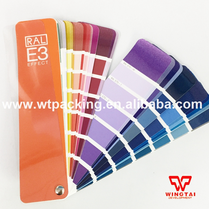 RAL E3 Effect Colour Chart Brand New E3 Solid Color / Metallic Color Card shows all the 490 RAL Effect colours. цена и фото