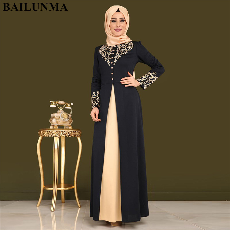 Abayas Dress Robe Moslim Dubai Femme Women Jurken For Gamis Wanita Musulmane Djelaba