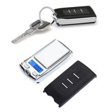 Mini balança digital de bolso para joia, portátil, 200g/100g 0.01g para joia genuína de ouro, balança de peso, eletrônica escalas de escala