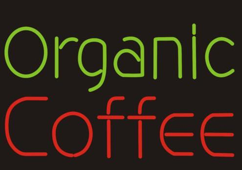 Custom COFFEE Organic Glass Neon Light Sign Beer Bar