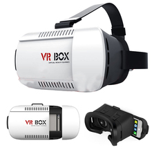G oogleกระดาษแข็งVR BOXความจริงเสมือนแว่นตา3Dสำหรับip hone 6บวกซัมซุงกาแล็คซี่S6 S5 S4ใดๆ4.7-6.1นิ้วมาร์ทโฟน