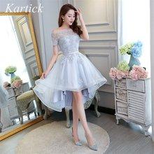 Новые Элегантные Платья для подружек невесты короткое спереди