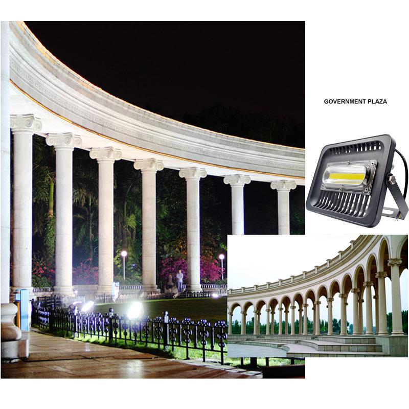LED ջրհեղեղի լույս 100W 50W 30W Floodlight IP65 - Արտաքին լուսավորություն - Լուսանկար 6