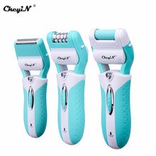 3 In 1 Electric Epilator Women Hair Removal Painless Shaving