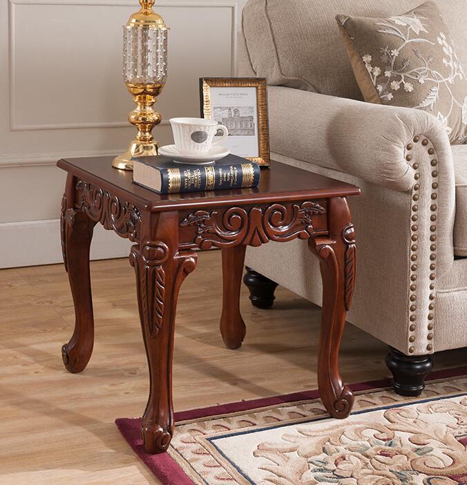 American Sofa Edge A Few European-style Living Room Round Small Square Table Small Round Table Coffee Table Side Table.