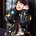 2017 New Autumn Girls Jacket Stars Print Kids Coat Outerwear Boys Windbreaker Baby Jackets Kids Clothes Children Clothing 18M-5T