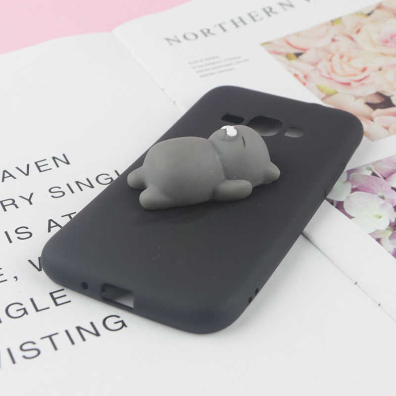 Mainan Lucu Licin Case untuk Samsung Galaxy J1 2016 J2 Inti J3 2017 J4 Plus J5 Pro J6 Prime J7 neo NXT J8 2018 Telepon Cover