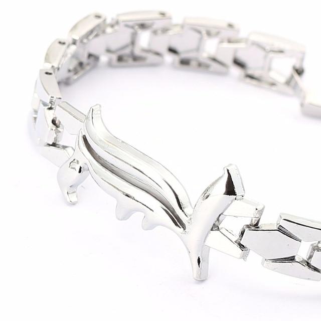 Death Note L Metal Bracelet Bangle For Women and Men