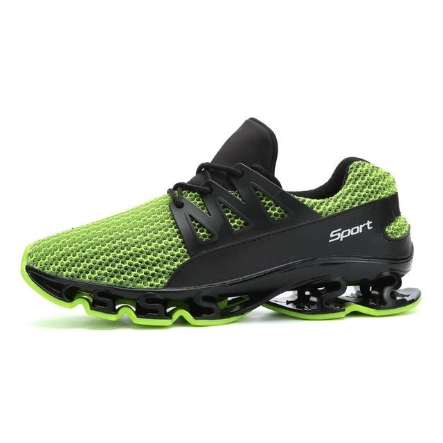 3b4683affec Zapatos para hombre zapatillas adultos baja deporte calzado otoño  transpirable verano entrenadores ligero deporte Springblade zapatos