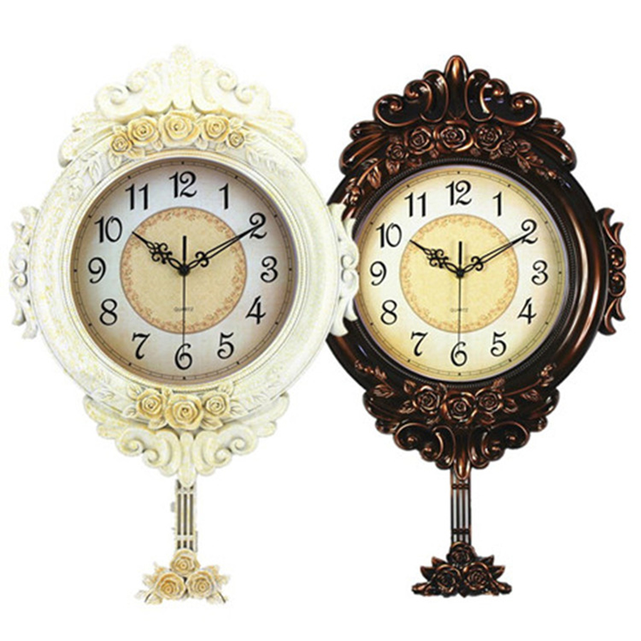European Retro Quartz Clock Art Decoration Living Room