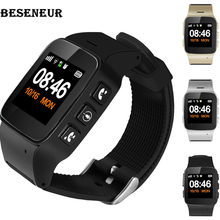 Beseneur D99+ GPS+WIFI+LBS Smart Watch Elderly kids Long Standby Phone SOS Anti-lost Tracking Smartwatch for IOS Android phones(China)