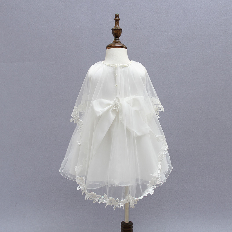 7fe9e81a88ce Baby Christening Dress White Lace Baby Birthday Wedding Party Baby ...