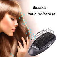 Vip elétrica iônico estilo escova de cabelo íons escova de cabelo pente modelagem de cabelo magia beleza massagem escova de cabelo faz o cabelo mais suave brilhante