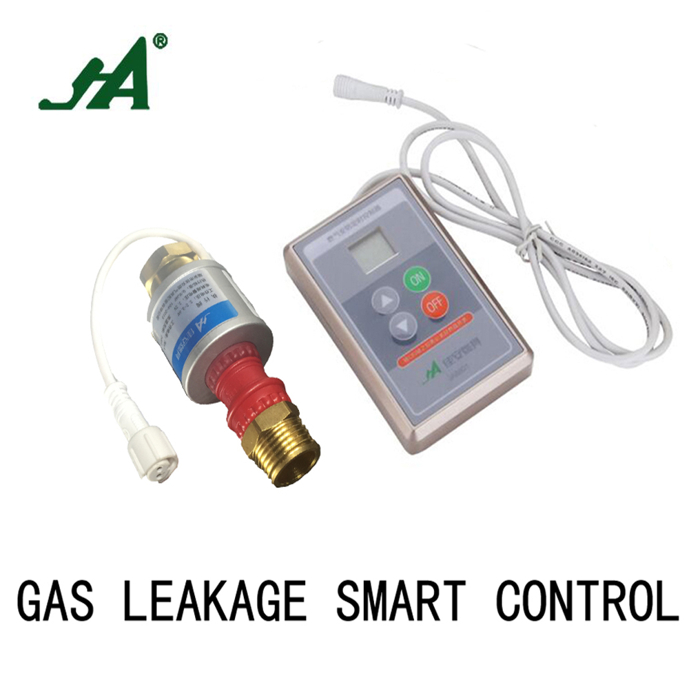 JA8802 Smart control Gas Leakage Automatically Close solenoid valve Cook Set for pipeline gas valve valve