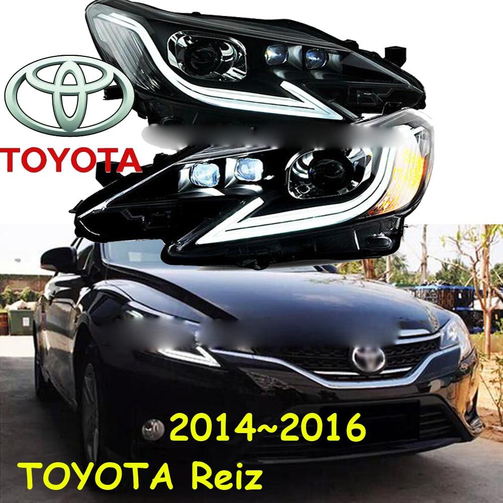 Reiz headlight,2014~2016,mark x,mark-x,markx,Free ship! Reiz fog light,2ps/set+2pcs Ballast,Reiz часы омега спидмастер mark 2