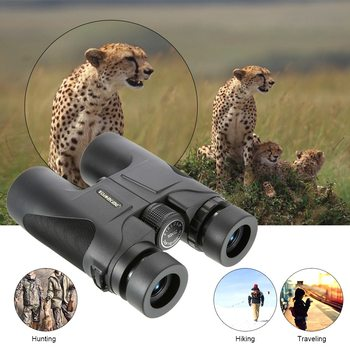 Visionking 10X42 Magnification Outdoor Camping Hunting Roof Binocular Telescope Spotting Scope For Travelling Hunting Birding