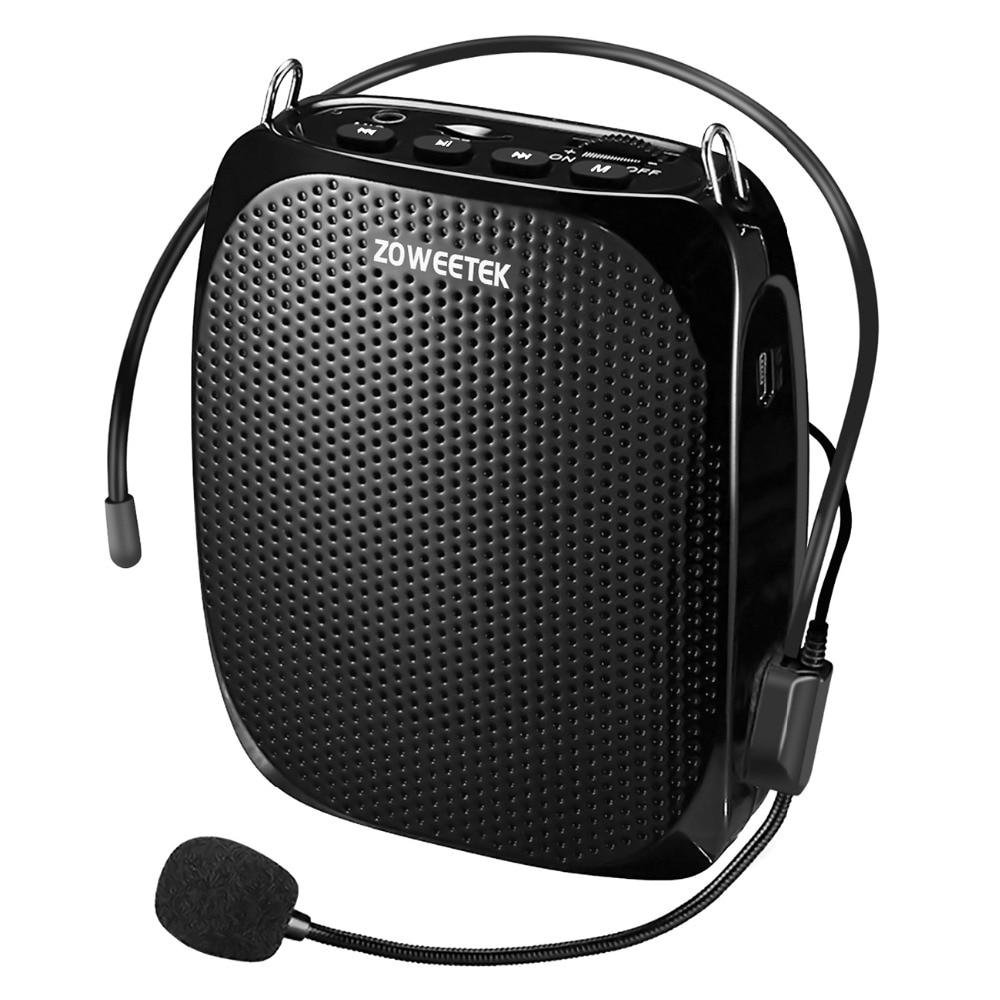 25 pièces Zoweetek 10 W filaire Mini haut-parleur amplificateur de voix Portable naturel stéréo son Microphone pour Guide touristique discours