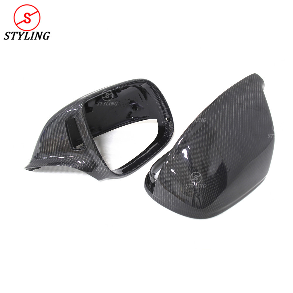 2009-2016 For Audi Q5 SQ5 Q7 Carbon Fiber Mirror Replacement With Side Assist