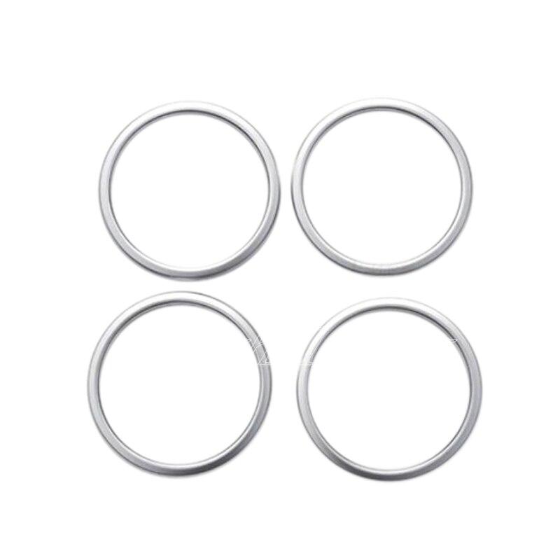 aliexpress com   buy 4pcs abs matte door inner speaker cover ring decor trim for bmw x1 f48 2016
