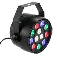 LED Par Light DMX 512 LED Stage Lights RGB Wash 8 Channel Disco Light Strobe Lamp
