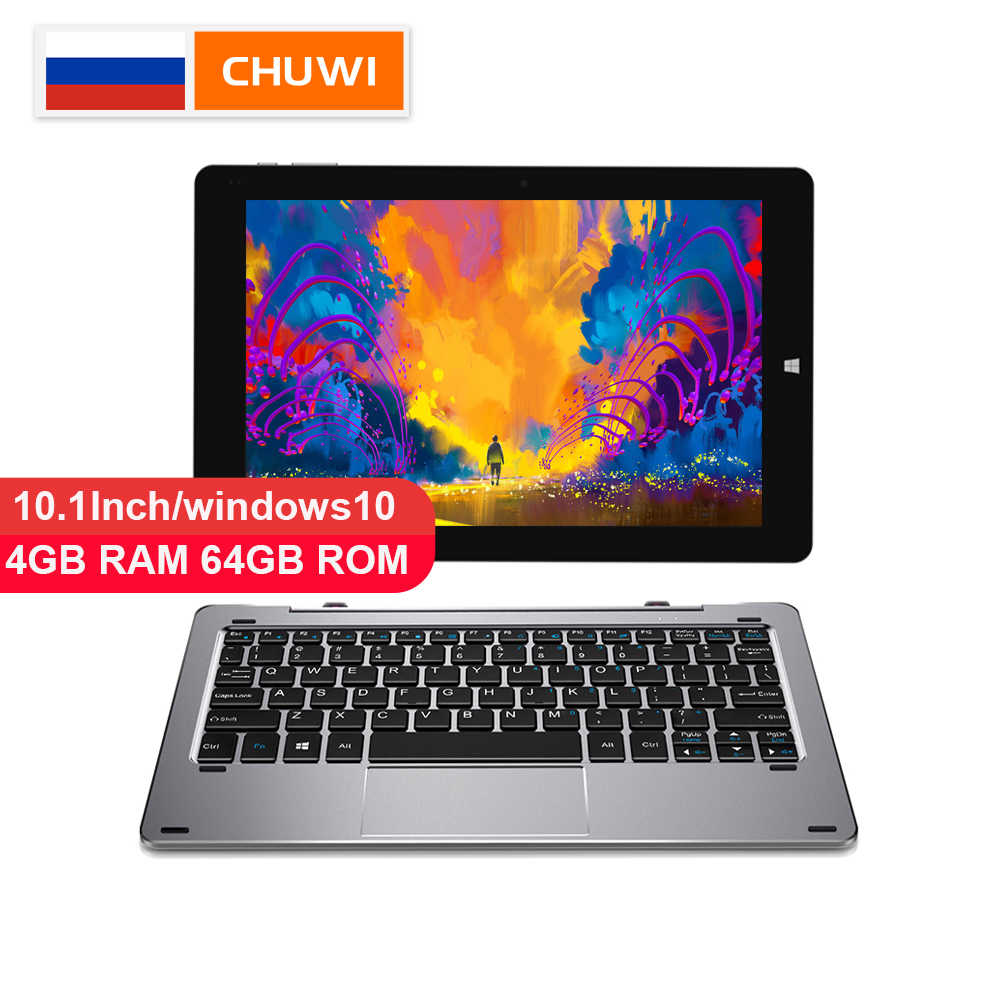 CHUWI Original Hi10 aire 10,1 pulgadas tablet PC Windows10 Intel Cherry Trail-T3 Z8350 Quad Core 4GB RAM 64GB tableta ROM tipo C 2 en 1